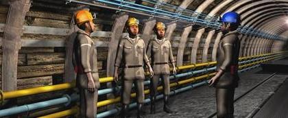 矿用环氧树脂涂层钢塑复合管
