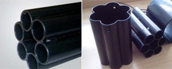 多孔热浸塑钢管